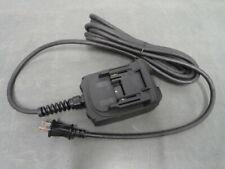 Greenlee gator EAC18120 battery adapter 120VAC 18VDC makita 18 volt
