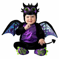 Baby Black Dragon Toothless Halloween Costume + Wings Infant 0 6 12 18 24 months