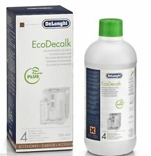 GENUINE DELONGHI ECODECALK UNIVERSAL DESCALER FOR COFFEE MACHINES 500ML