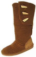Sheepskin Medium Width (B, M) Solid Shoes for Women
