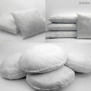 Hollowfibre cushion pads inners inserts filler filled pillows sofa all sizes