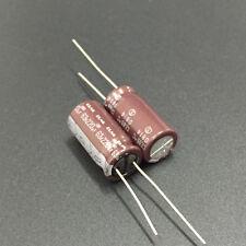 5pcs 220uF 63V  63V220UF Japan ELNA  Audio Capacitor Brown 10x20mm
