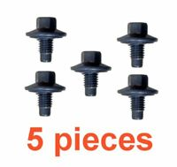 (5) 12mm 1.75 14mm Hex Drain Plugs W/ Inset Rubber Gaskets RPL 21006725 24234212