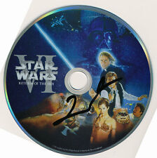 GEORGE LUCAS SIGNED AUTHENTIC STAR WARS VI DVD - Indiana Jones