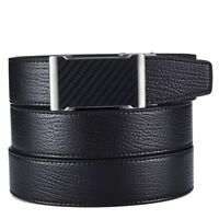 Men Belt Automatic Buckle Fashion Formal Business Genuine Leather Casual Classic
