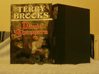 TERRY BROOKS THE DRUID OF SHANNARA U.S.A 1ST EDITION, 2ND PRINT HB VGC