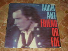 """ADAM ANT """"FRIEND OR FOE"""" LP MADE IN ITALY"""