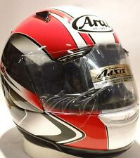 Arai Astro J Aurora 1 Red motorcycle helmet-Ducati colors Xs Sm Md Lg XL Astral