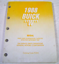Repair Manuals Literature For 1988 Buick Regal For Sale Ebay
