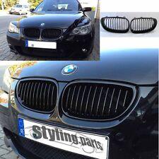 BMW E60 E61 5er 2003 -2010  NIEREN GRILL SCHWARZ BLACK SHADOWLINE HOCHGLANZ