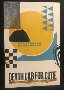 Hatch Show Print Poster Death Cab For Cutie Night #2 Ryman Nashville 04.16.19