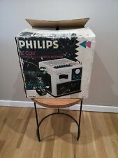 LE CUBE PHILIPS D-8082 MINT CONDITION BOOMBOX GHETTOBLASTER LIKE NEW VINTAGE