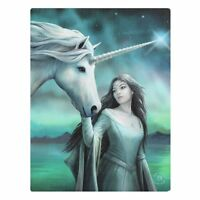 UNICORN & MAIDEN CANVAS 'NORTH STAR' BY ANNE STOKES HORSE MYTHICAL WALL ART