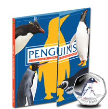 2017 Gentoo Penguin 50p and Folder From The Falkland
