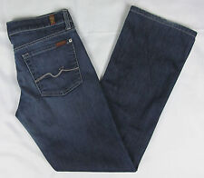 Womens 7 For all Mankind Boot cut jeans Blue Size 29