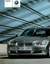 BMW E92 E93 Operating instructions Handbook Log book with iDrive NEW M3 335d