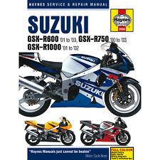 Suzuki GSX-R600 Haynes Manual 2000-03 GSX-R750 GSX-R1000 Workshop Manual