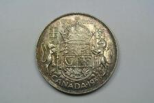 1953 Canada 50 Cent Coin, Small Date, NSF Uncirculated - C2507