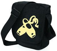 Ballet Shoulder Bags Black / Pink Ballerina on Mini Reporter Bag Xmas Gift