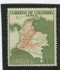 Colombia Stamps Scott #C253 MINT,NH,F-VF (X3390N)