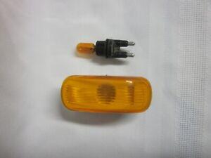 Saab 9000 900 Amber Fender Blinker Marker Turn Signal Side Light Left or Right