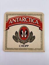Vintage Antarctica Chopp Beer Coaster