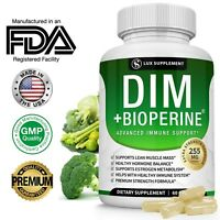 ▶DIM Supplement Pills BioPerine for Menopause, PCOS, Estrogen Metabolism&Balance