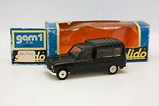 Solido 1/43 - Renault 4 4L F4 Esmaltado Negra