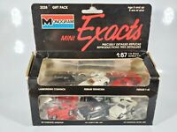 Monogram Mini Exacts 1:87 Scale HO 1:87 Scale Cars #2028 Gift Pack 6 Car Set