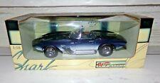 """UT Models 1/18 Scale 1961 Chevrolet Corvette """"Mako Shark"""" Car New in Box"""
