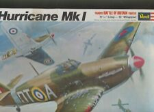 1970 REVELL HAWKER HURRICANE MK 1 MODEL KIT 1/32 OPENED