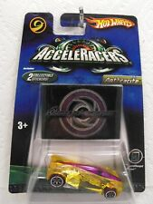 Rare! VHTF! Hot Wheels AcceleRacers ANTHRACITE YELLOW