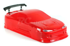 On-Road Nissan Silvia 200sx RC Drift Car Body w/decals Red