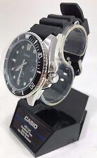 Casio - MDV106-1A - Men's 200M Black Resin Band Black Dial Analog Dive Watch