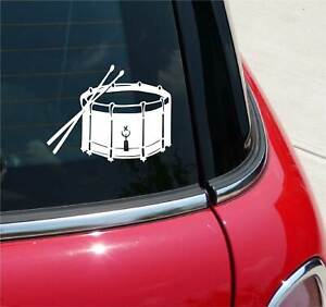 SNARE DRUM BAND MUSIC CONCERT GRAPHIC DECAL STICKER ART CAR WALL DECOR
