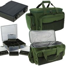 NGT Carp Fishing Insulated Tackle Bag Holdall 709 + 4+1 Coarse Tackle Box