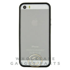 Apple iPhone 5/5S/i5S Protective Bumper Black/Transparent Clear Cover Shell Skin