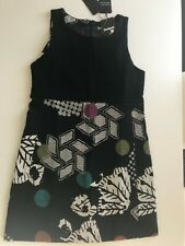 "Gorgeous Fully Lined Desigual Sleeveless Dress, 42(36"" Bust), NWT"