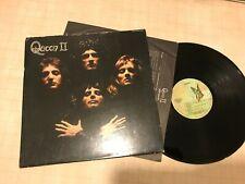 Queen LP II 1974 elektra gatefold butterfly stereo w/lyric 75082 1st SRC press!