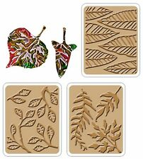Sizzix Thinlits Dancing Leaves 2PK + 3 emboss #658802 Retail $14.99 by Vintaj