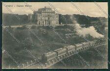 Roma Anzio Treno cartolina EE4988