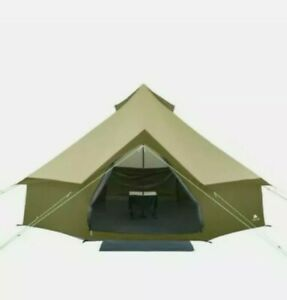 Ozark Trail Olive Green Yurt Waterproof Tent 8 Person Camping Outdoor Family New