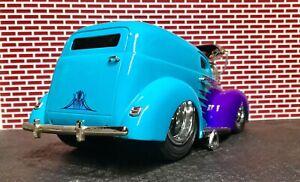 "Muscle Machines Custom 1940 Ford Sedan Delivery 1/18 scale ""Raked & Slammed"""