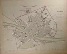 1835 Map of Florence (Firenze) Baldwin & Gradoc