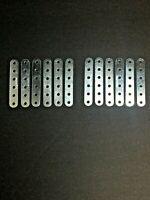 100x Pairs Meccano Part 37a Square Nut Zinc 37b Allen Bolt Zinc Original