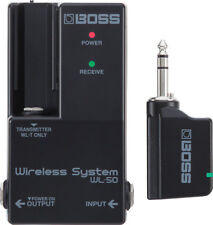 Boss WL-50 Wireless System for Guitar Pedal Boards!