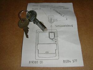 Siemens 8GB4577 Schloss f. Kleinverteiler Unterverteilung SIMBOX