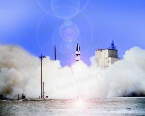 8x10 Print A3 Polaris Missile Launch 1964 #1c616
