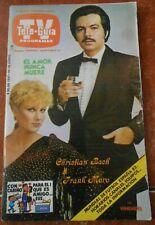 TV GUIDE magazine CHRISTIAN BACH cheryl ladd MISS MEXICO tourism LUCIA MENDEZ