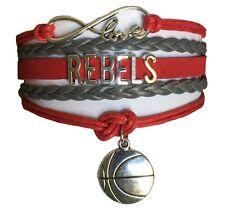 University of Nevada Las Vegas UNLV Rebels Infinity Bracelet Jewelry Apparel